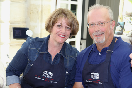 Cooking class and great fun on 2016 October Bordeaux Grand Cru Harvest Tour