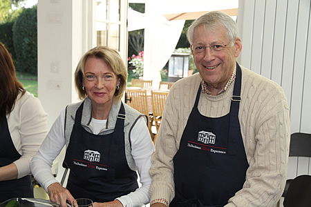 Fun in Margaret's Chateau Kitchen on the 2016 October Bordeaux Grand Cru Harvest Tour