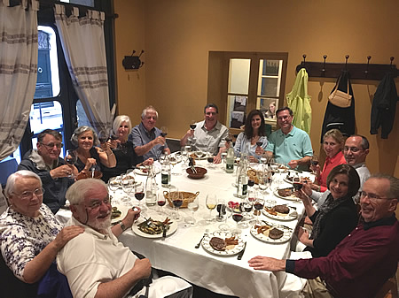 The 2018 June Grand Cru Tour 1, sipping 1982 over dinner