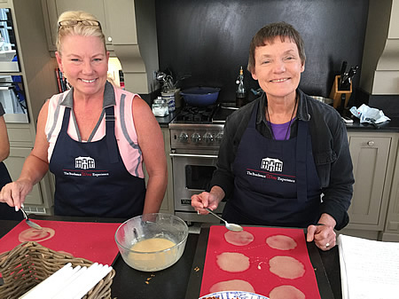 Cooking class and great fun on 2017 June-July Bordeaux Grand Cru Tour