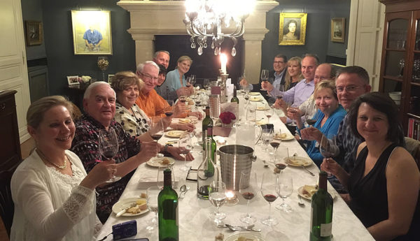 A Farewell dinner like you've never experienced before on the Bordeaux Grand Cru Wine and Culinary Tour