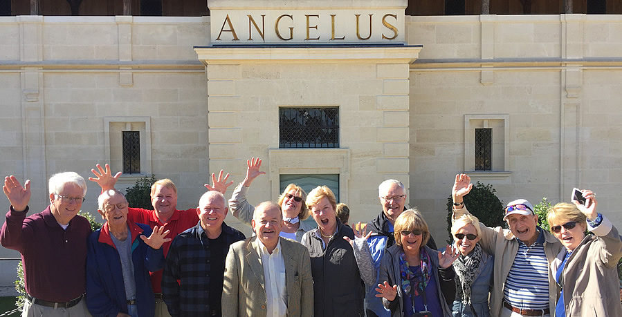The Bordeaux Wine Experience 2017 October Grand Cru Harvest Tour Tasting at Angelus with the owner