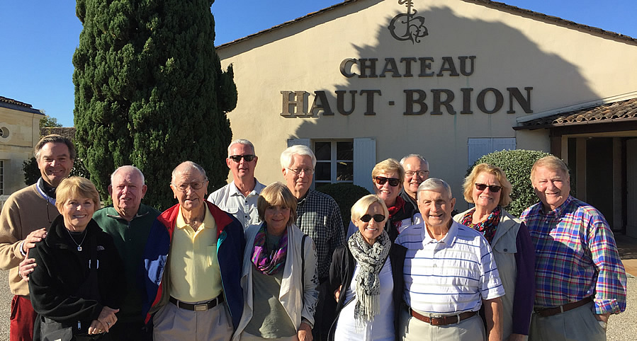 The 2017 October Grand Cru Harvest Tour Tasting and touring at First Growth Chateau Haut Brion