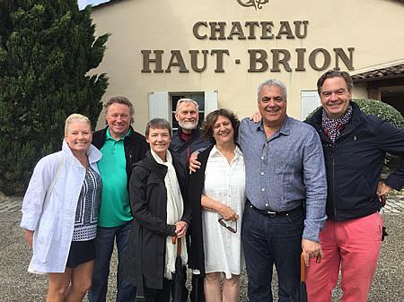 The 2017 June-July Bordeaux Grand Cru Tour at Chateau Haut Brion
