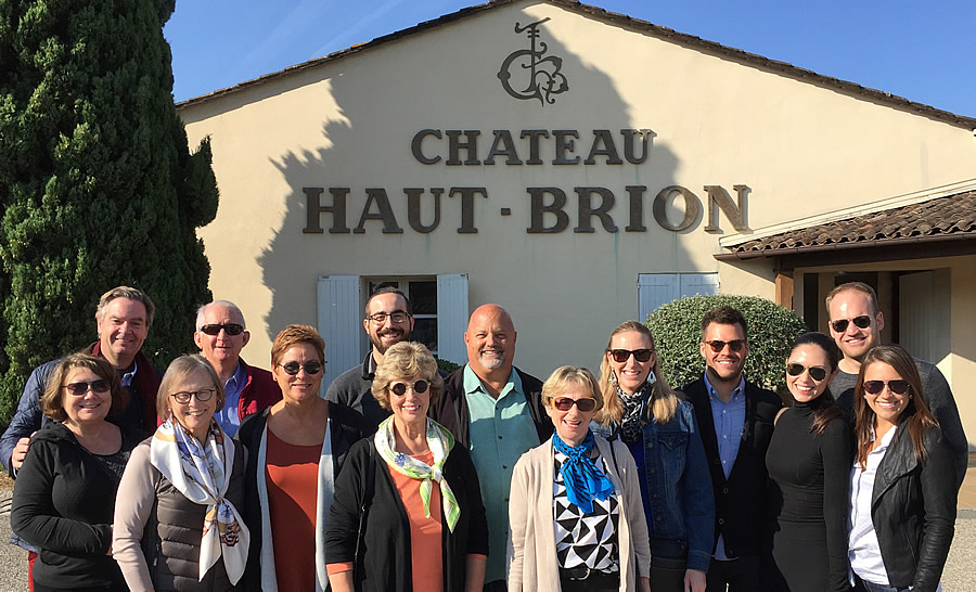 The 2017 September Grand Cru Harvest Tour Tasting and touring at First Growth Chateau Haut Brion