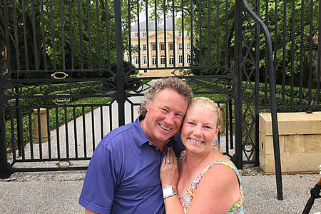 Jeff Goodman and Connie Hart