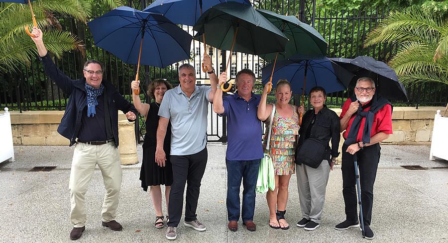 The 2017 June-July Bordeaux Grand Cru Tour at Chateau Margaux