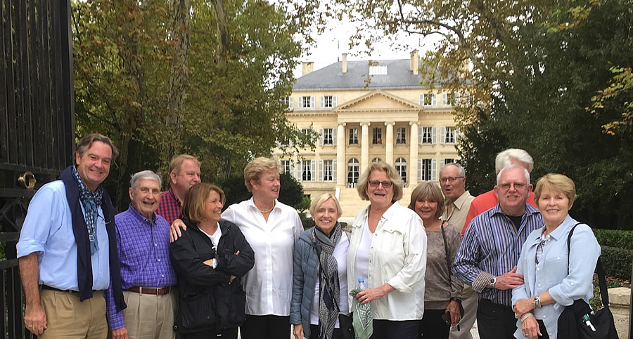 The 2017 October Grand Cru Harvest Tour meeting the owner at Chateau Margaux