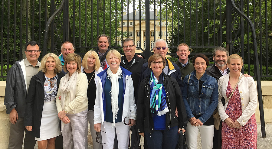 The 2018 May Grand Tour at Chateau Margaux