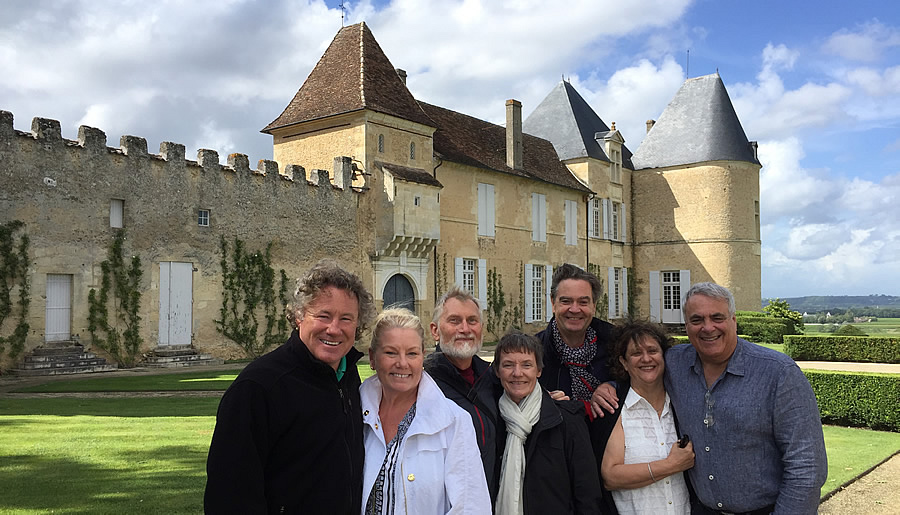 The 2017 June-July Bordeaux Grand Cru Tour at Superior First Growth Chateau d'Yquem