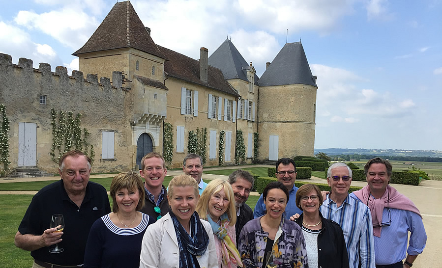 The 2018 May Grand Tour at Chateau Yquem