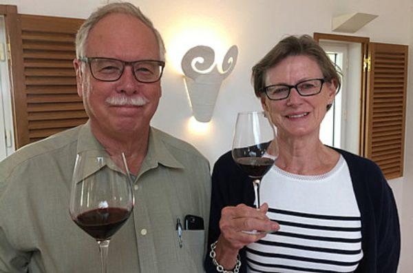 Carol and Peter Clarke