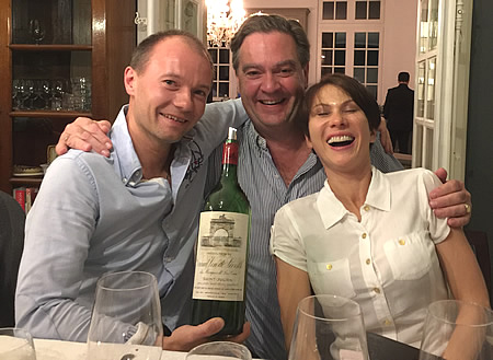 Great fun on our Bordeaux Wine Tours