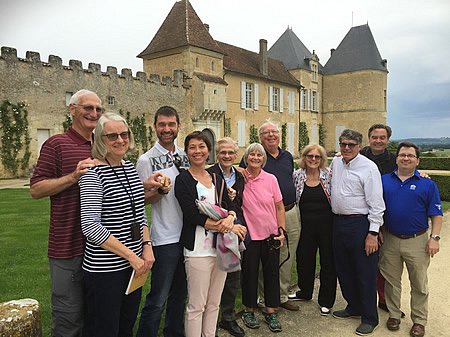 The 2017 May Grand Tour at Chateau Yquem