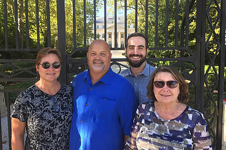Angelo and Gayla Fili & Kathryn Ballobin and Austin Filli