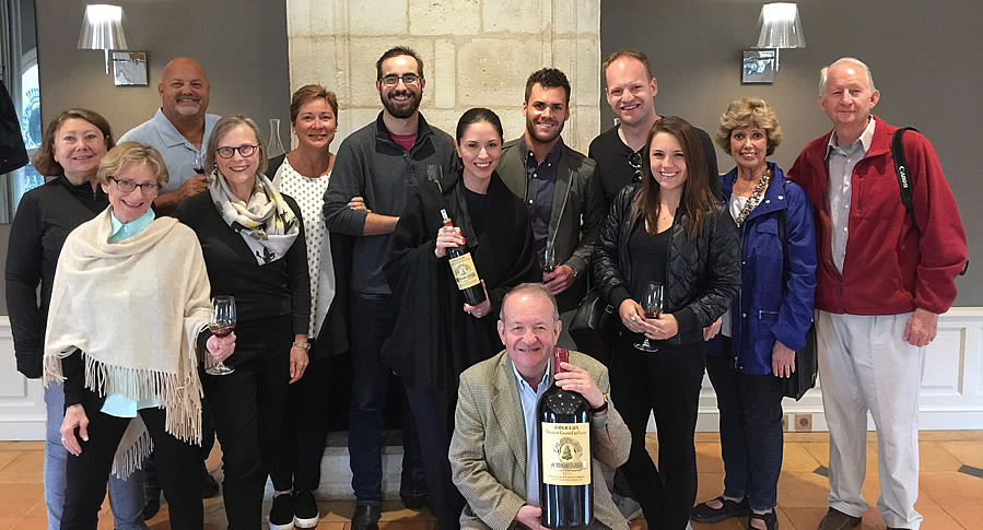 The Bordeaux Wine Experience 2017 September Grand Cru Harvest Tour Tasting at Angelus with the owner