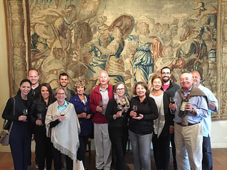 The Bordeaux Wine Experience 2017 September Grand Cru Harvest Tour Tasting in Pomerol with the owner