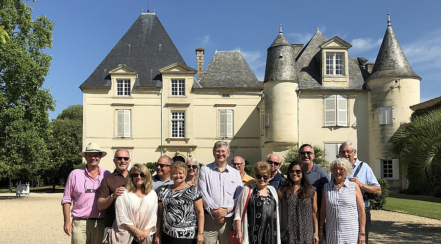 The 2018 June II Bordeaux Grand Cru Tour at Chateau Haut Brion