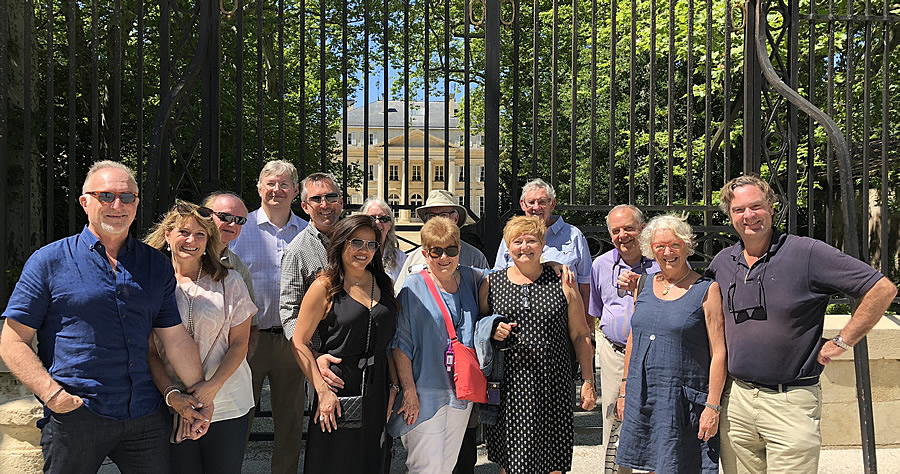 The 2018 June II Bordeaux Grand Cru Tour at Chateau Margaux