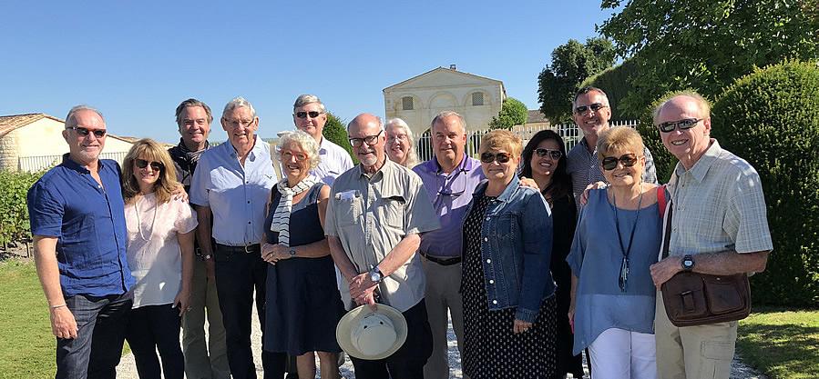The 2018 June II Bordeaux Grand Cru Tour at Mouton Rothschild