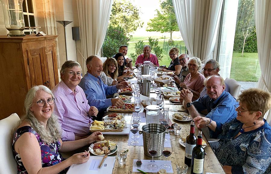 The 2018 June II Bordeaux Grand Cru Tour tasting at Chateau Coulon Laurensac