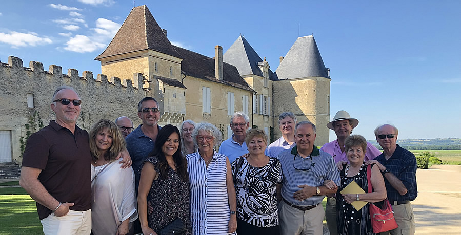 The 2018 June II Bordeaux Grand Cru Tour at Superior First Growth Chateau d'Yquem