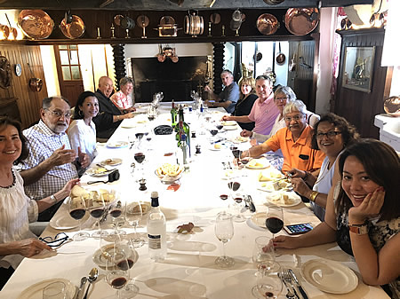 The 2018 Bordeaux Grand Cru Harvest Tour I indulging in a private Chateau Lunch