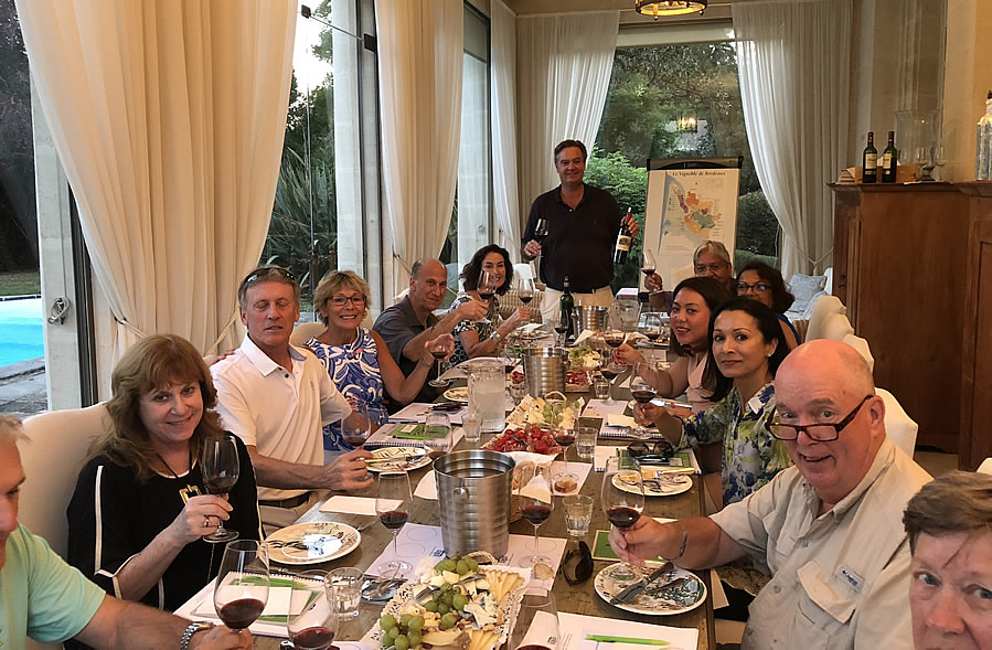The 2018 Bordeaux Grand Cru Harvest Tour I tasting at Chateau Coulon Laurensac