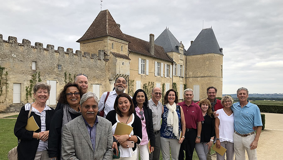The 2018 Bordeaux Grand Cru Harvest Tour I at Superior First Growth Chateau d'Yquem
