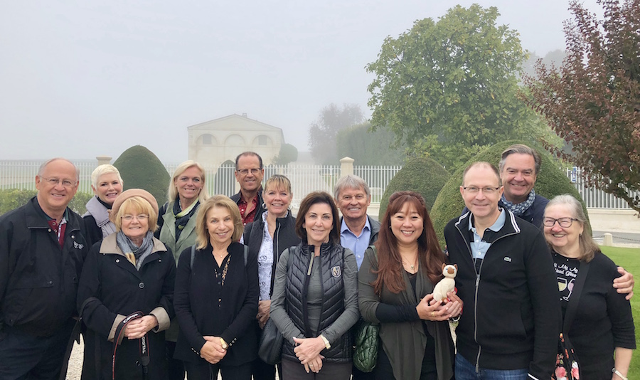 The 2018 Bordeaux Grand Cru Harvest Tour III at Mouton Rothschild