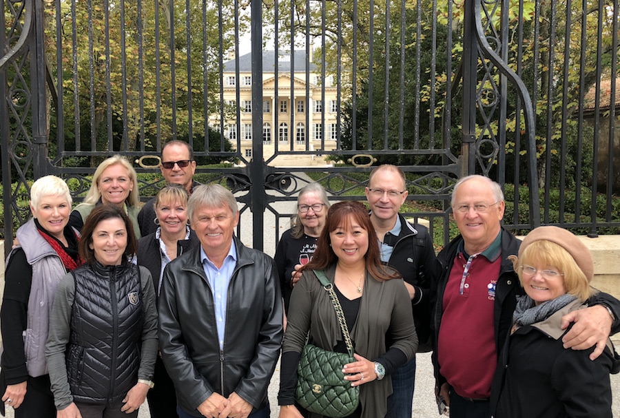 The 2018 Bordeaux Grand Cru Harvest Tour III at Chateau Margaux