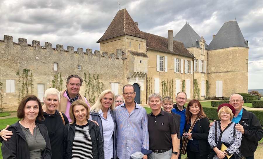 The 2018 Bordeaux Grand Cru Harvest Tour III at Superior First Growth Chateau d'Yquem