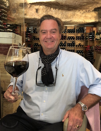 Ronald behaving badly (and having fun) on the 2018 Bordeaux Harvest Tour III