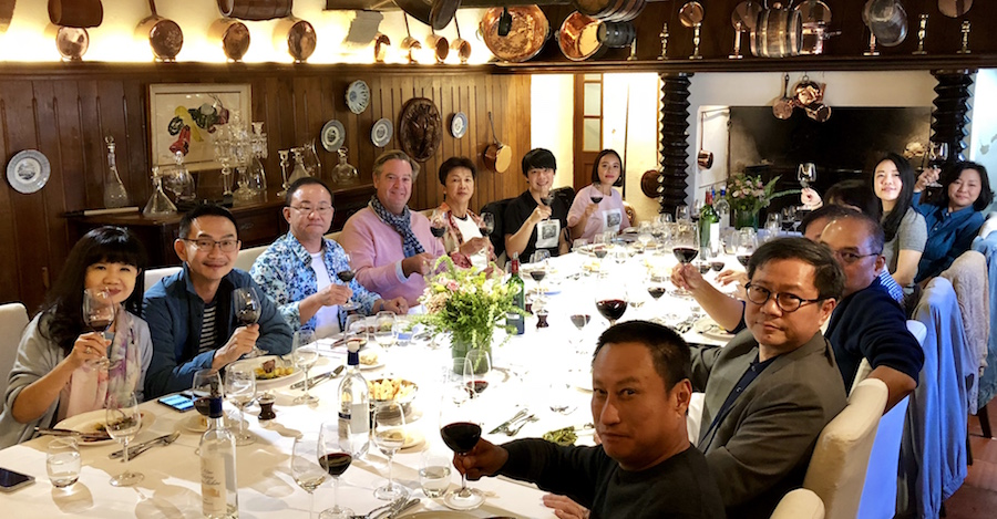 The 2018 Bordeaux Grand Cru Harvest Tour II in a Classified Growth