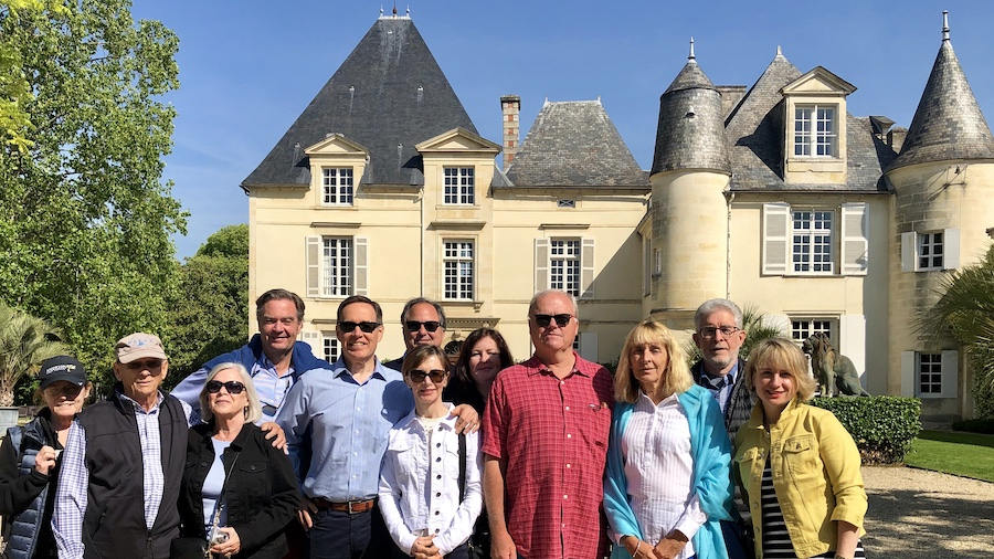 The 2019 May Grand Tour tasting at Haut Brion
