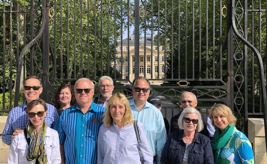 The 2019 May Grand Tour at Chateau Margaux