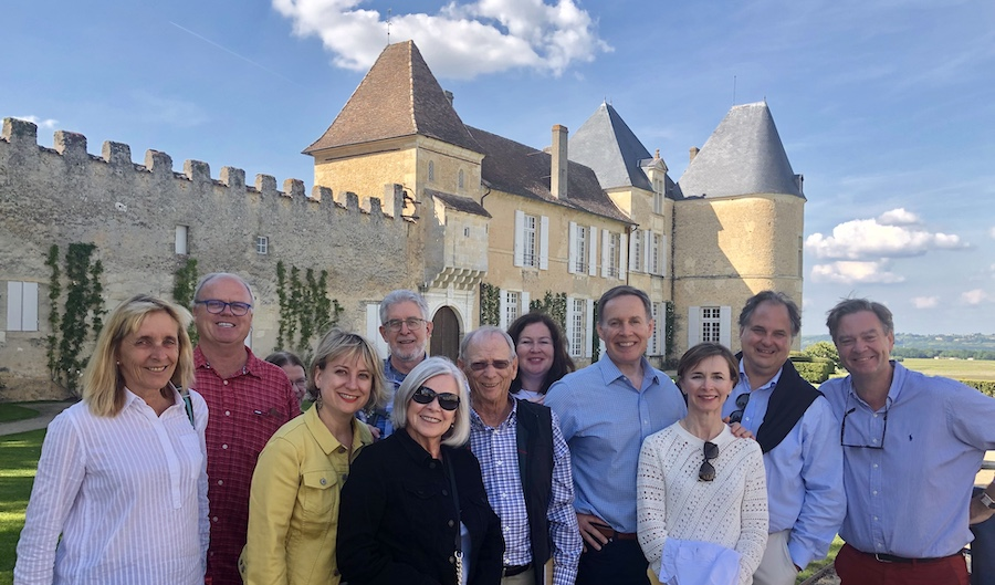 The 2019 May Grand Tour at Chateau Yquem
