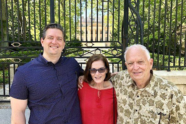 Patsy, Alan and Jonathan Dorris
