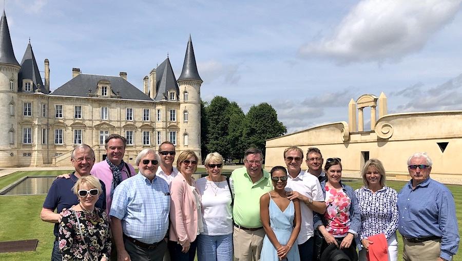 The June 2019 Grand Cru Tour 1, at Pichon Longueville Baron