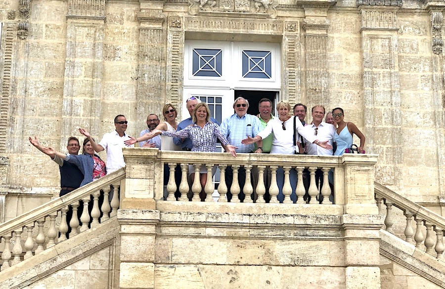 The June 2019 Grand Cru Tour 1 feeling like Lords and Ladies of the manor