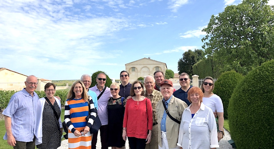 The June 2019 Grand Cru Tour 2, at Mouton Rothschild