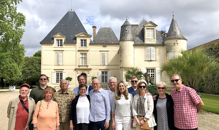 The June 2019 Grand Cru Tour 2 touring and tasting at Haut Brion