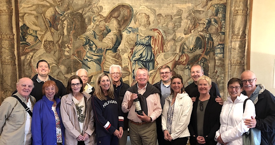 The 2019 June Grand Cru Tour 2 tasting in Pomerol with the owner