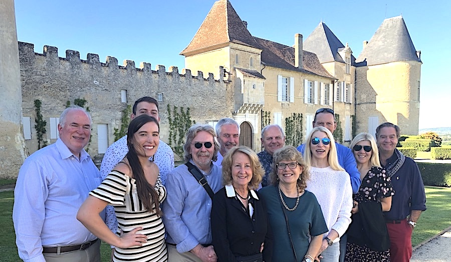 The 2019 Bordeaux Grand Cru Harvest Tour I at Superior First Growth Chateau d'Yquem