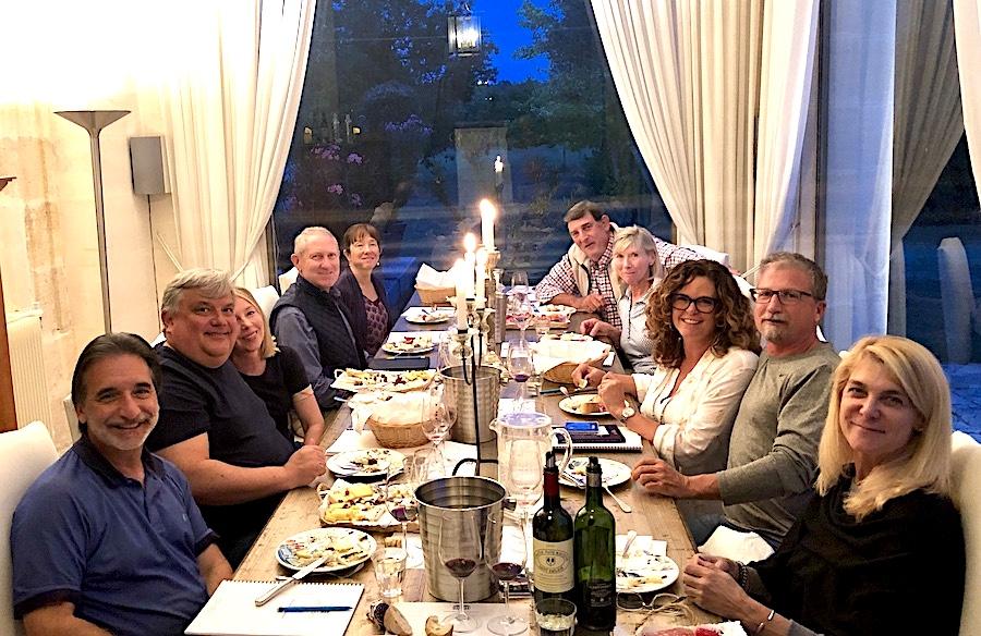 The 2019 Bordeaux Grand Cru Harvest Tour 2 Masterclass in Grande Cru wine tasting at Chateau Coulon Laurensac