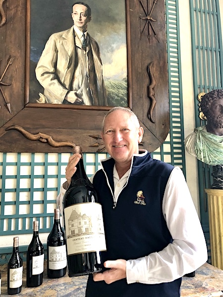 Kevin behaving badly (and having fun) on the 2019 Bordeaux Harvest Tour 2