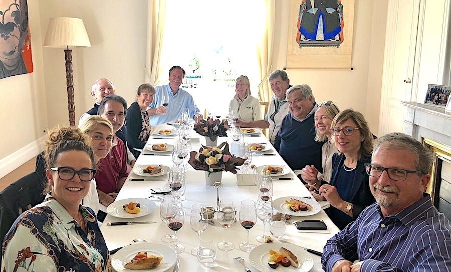 The 2019 Bordeaux Grand Cru Harvest Tour 2: an unforgettable lunch in a Classified Growth