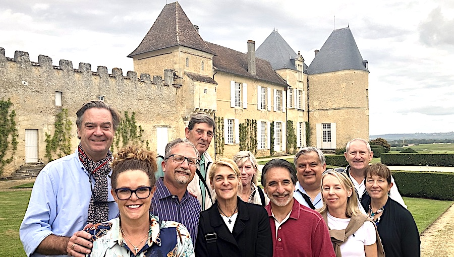 The 2019 Bordeaux Grand Cru Harvest Tour 2 at Superior First Growth Chateau d'Yquem