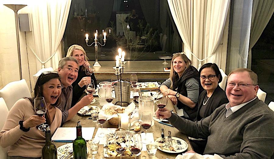 The 2019 Bordeaux Grand Cru Harvest Tour 3 Masterclass in Grande Cru wine tasting at Chateau Coulon Laurensac