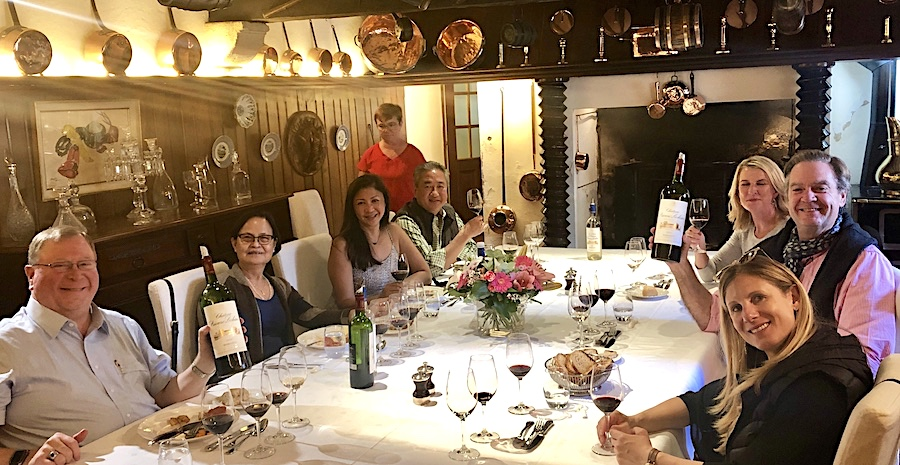 The 2019 Bordeaux Grand Cru Harvest Tour 3: an unforgettable private lunch in a Classified Growth